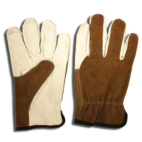 Leather Driver, Split Back, Grain Palm, Wing Thumb- 8239 - Dozen