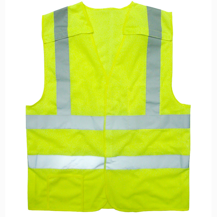 VB221PFR Type R, Class 2: Self-Extinguishing High Visibility Vest