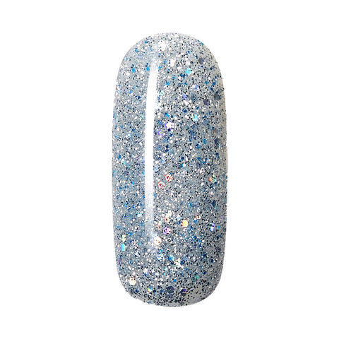 frozen sparkle nail gel polish