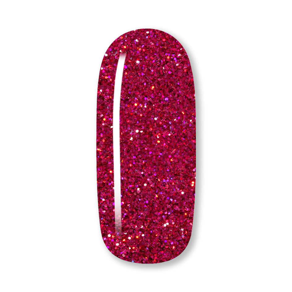 raspberry nail gel polish