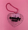 Candy Coat Heart Shaped Keyring