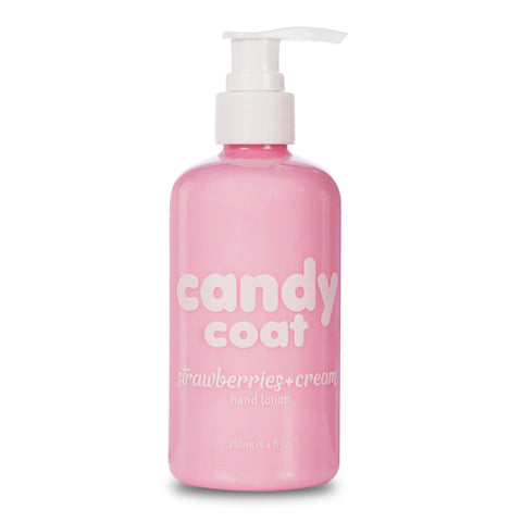 Candy Coat - Strawberries + Cream Hand Lotion - Candy Coat
