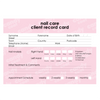 Client Record Cards - Candy Coat