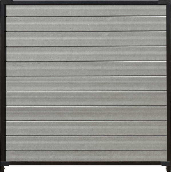Santa Fe Panel - 6 ft. H x 6 ft. W with Hardware. Available in 4 color options.