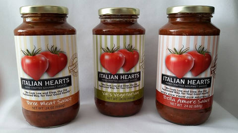 Italian Hearts Sampler Pack