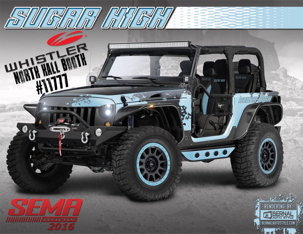 Whistler Partners with Team Sugar High for SEMA 2016