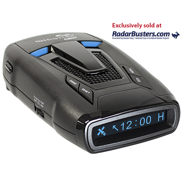 Whistler and Radarbusters Announce Partnership for Exclusive Launch of New CR97 Maximum Performance Radar Detector