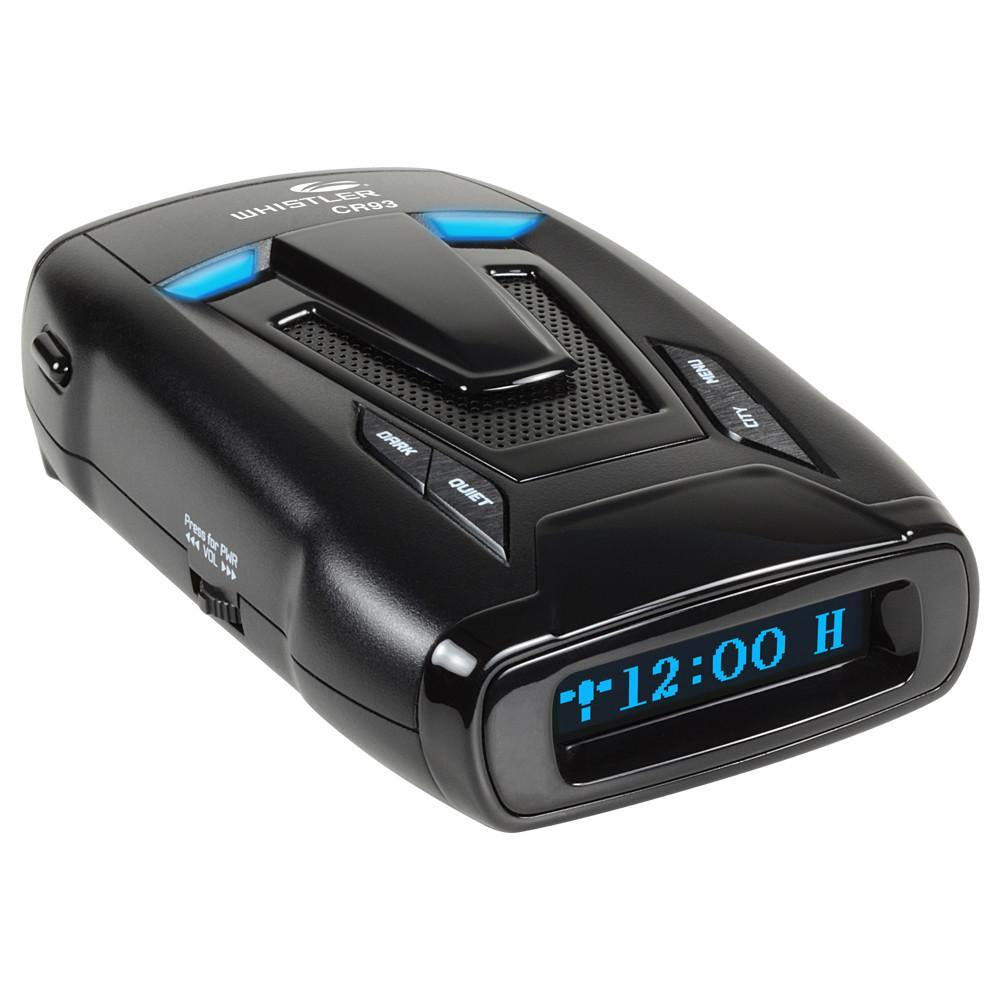 CR93 Bilingual Laser Radar Detector w/ Internal GPS