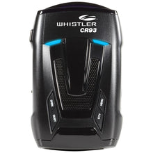 CR93 Bilingual Laser Radar Detector w/ Internal GPS - Whistler Group