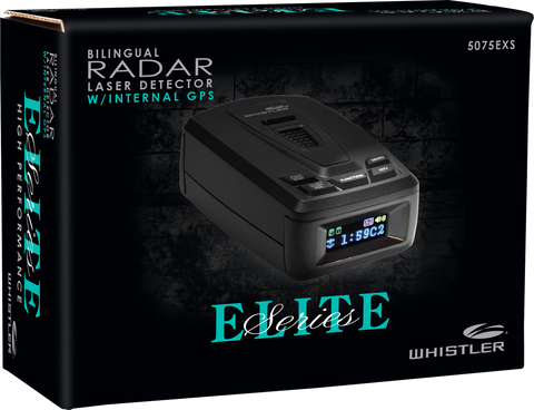 5075EXS - Elite Series Radar Detector - Whistler Group
