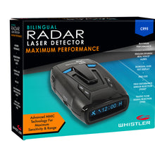 CR95 Bilingual Laser Radar Detector (ENG/SPANISH)