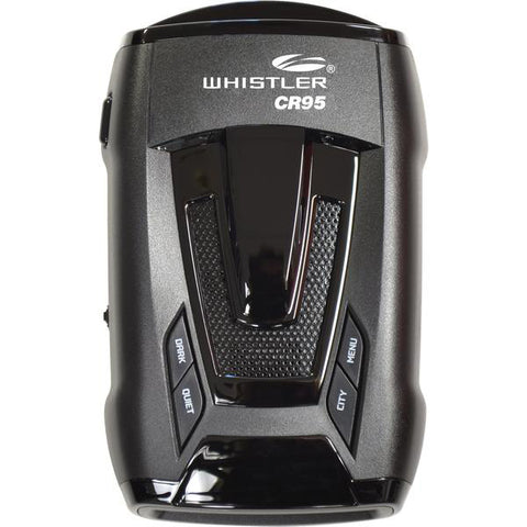 CR95 Bilingual Laser Radar Detector (ENG/SPANISH) - Whistler Group