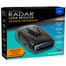 CR97 Maximum Performance Laser Radar Detector