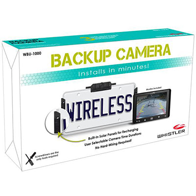 WBU-1000 Wireless Digital Backup Camera