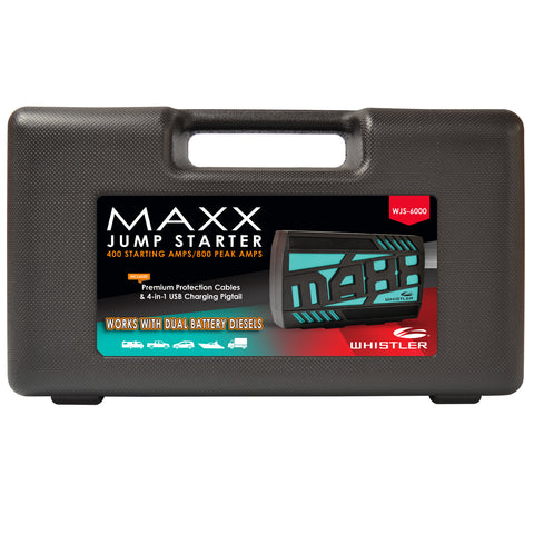 WJS-6000 Maxx Jump Starter Packaging
