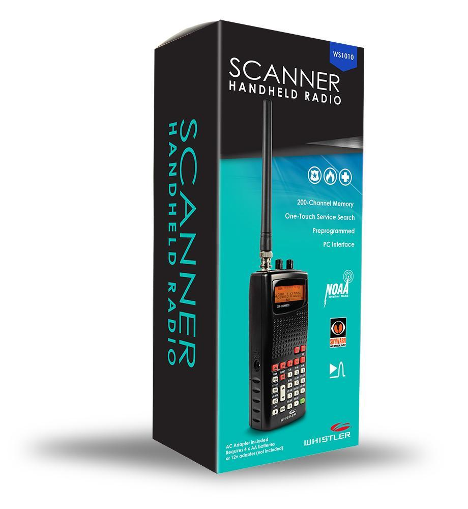 WS1010 - Handheld Scanner Radio