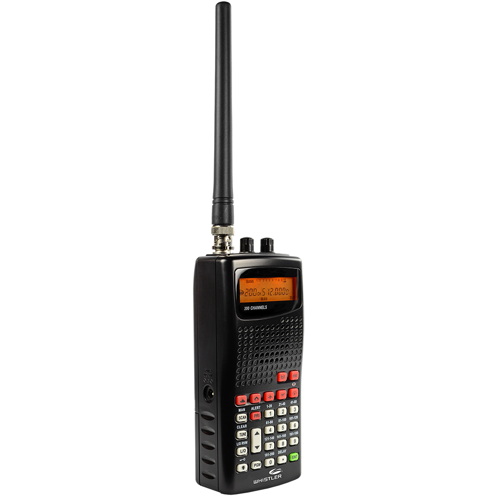 WS1010 - Handheld Scanner Radio - Whistler Group