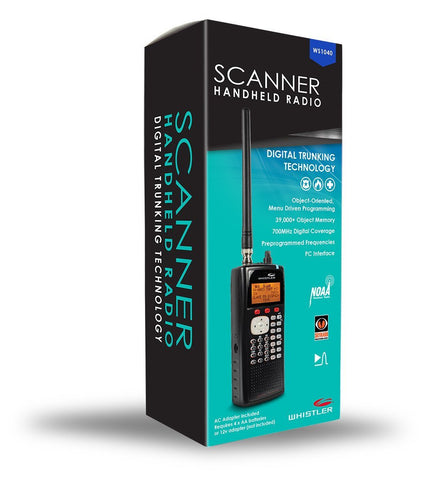 WS1040 - Handheld Scanner Radio - Whistler Group