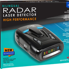 CR73 Bilingual Laser Radar Detector (ENG/SPANISH)