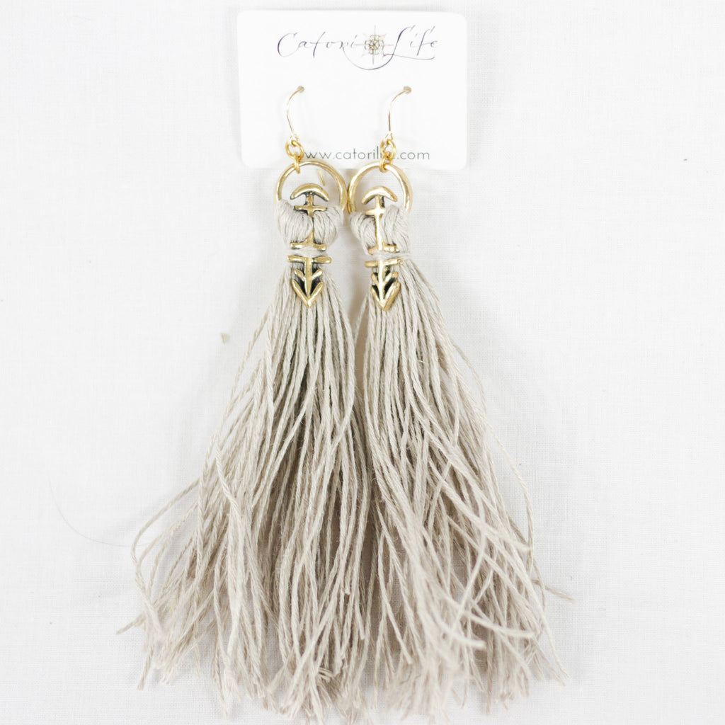 Pavati Tassel Earrings