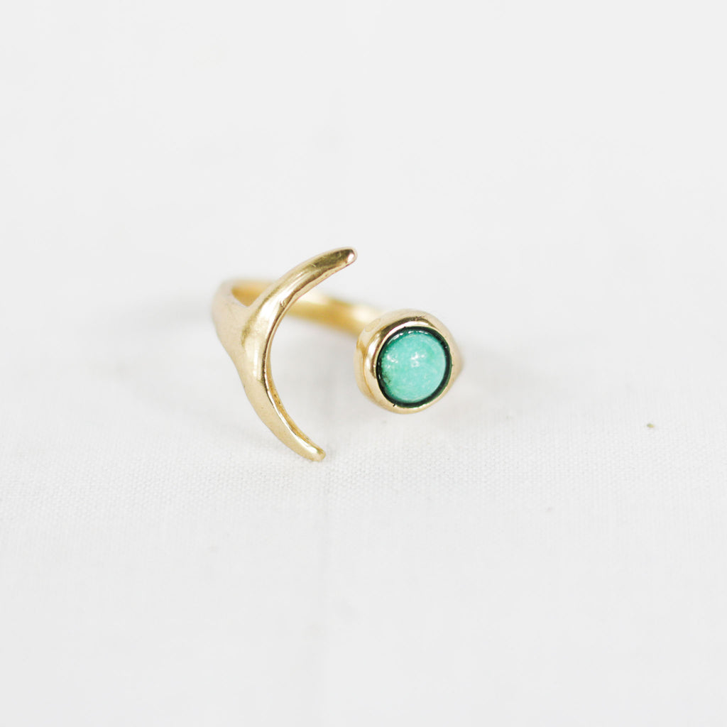 Yemaya Moon Ring
