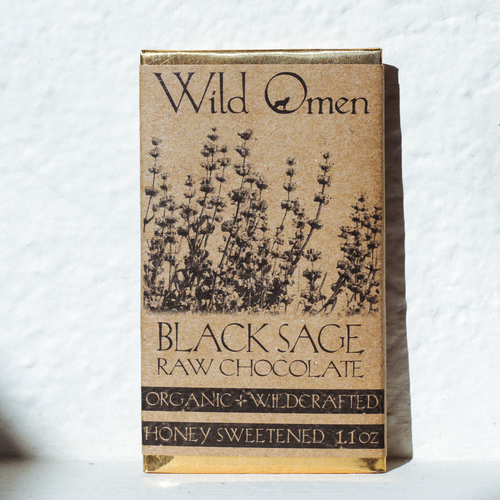 Wild Omen raw chocolate