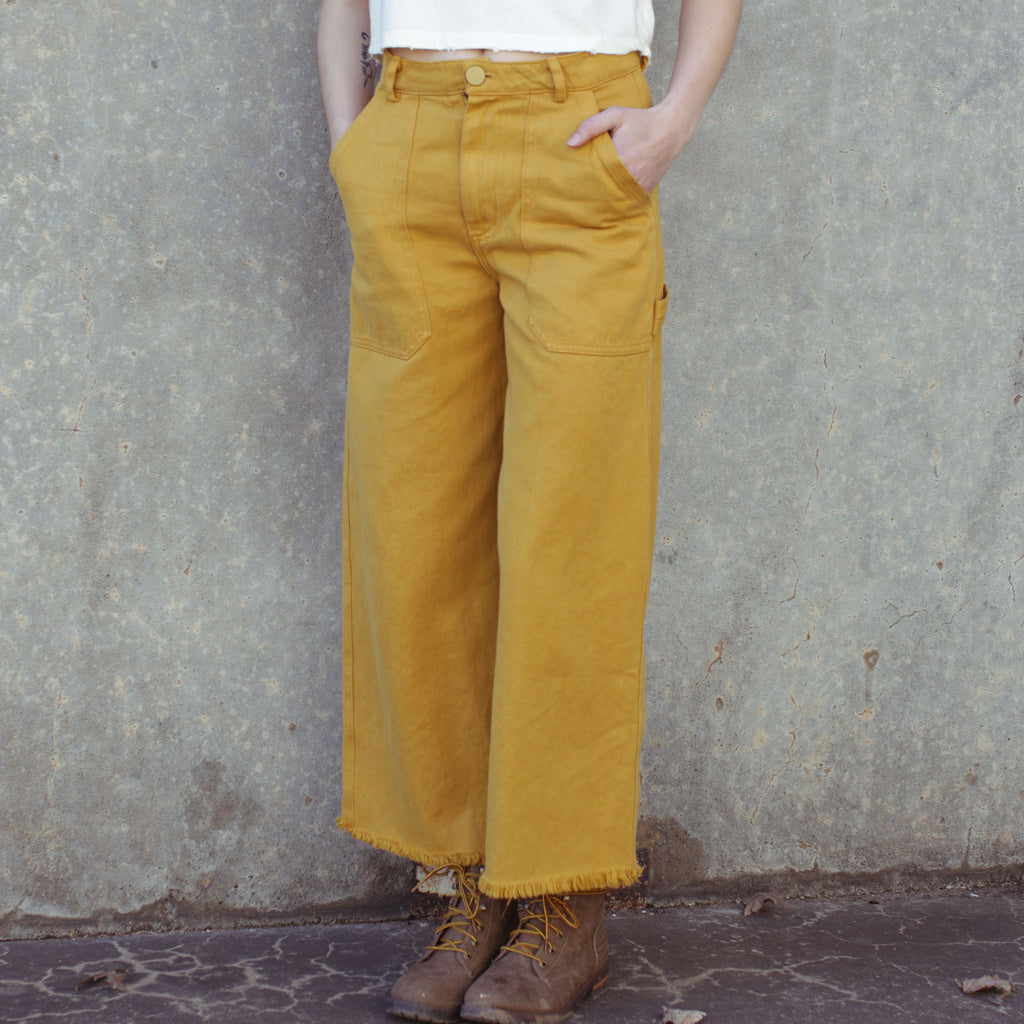 Golden Hemp Utility Pants