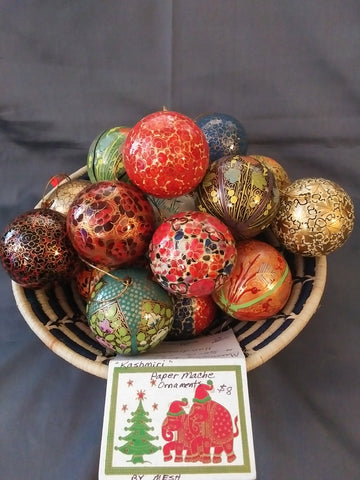 MESH Kashmiri Christmas Ornaments