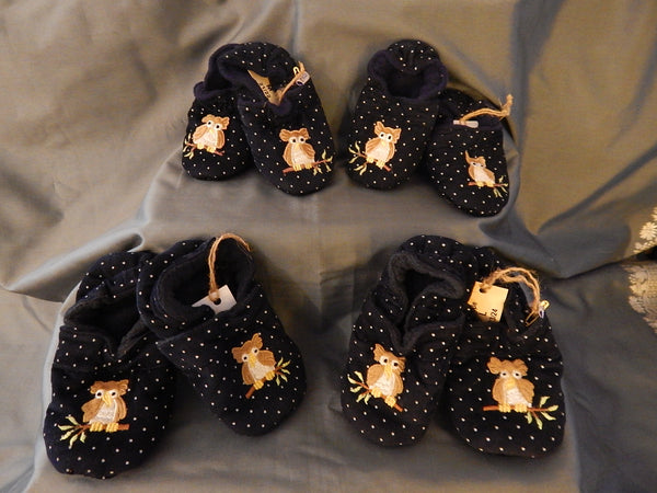 Baby Slippers - OWL