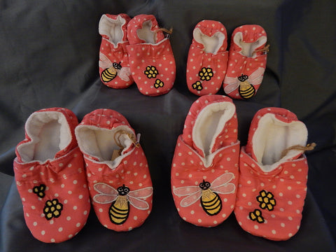 Baby Slippers - Bumblebee