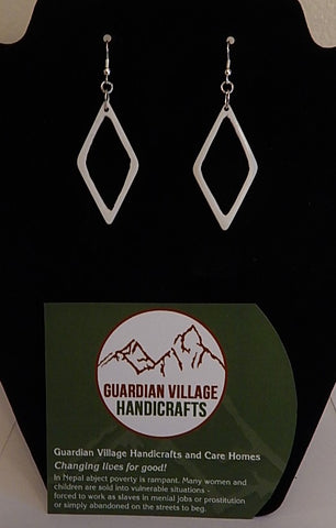GVH Water Buffalo Bone Earrings  # 1