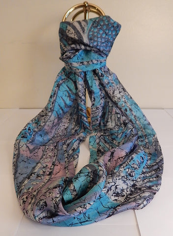 Forever Zoe Silk Infinity Scarf # 1