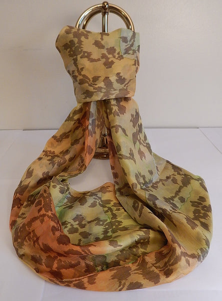 Forever Zoe Silk Infinity Scarf # 4