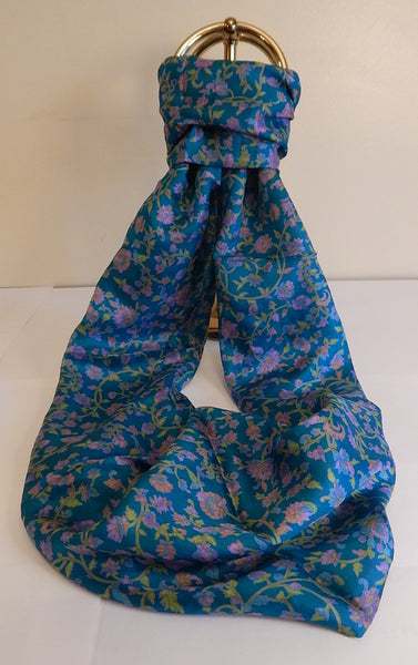Forever Zoe Silk Infinity Scarf # 7