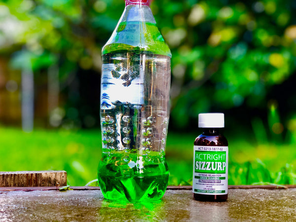 Actright Sizzurp (2oz) Green Legal Lean Relaxation Syrup