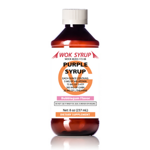 Wok Syrup (8oz) Purple Legal Lean Relaxation Syrup
