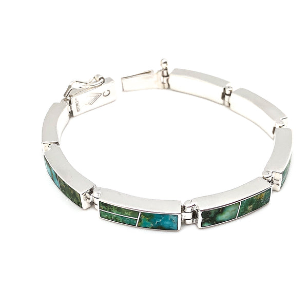 Sonoran Gold Inlay Link Bracelet