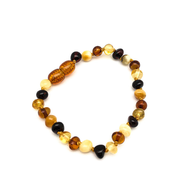 Small Amber Beaded Bracelets | Native Visions |