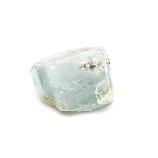 Aquamarine With Mica