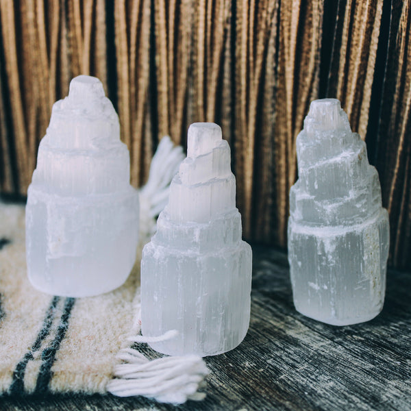 "Selenite Tower ""Small"""