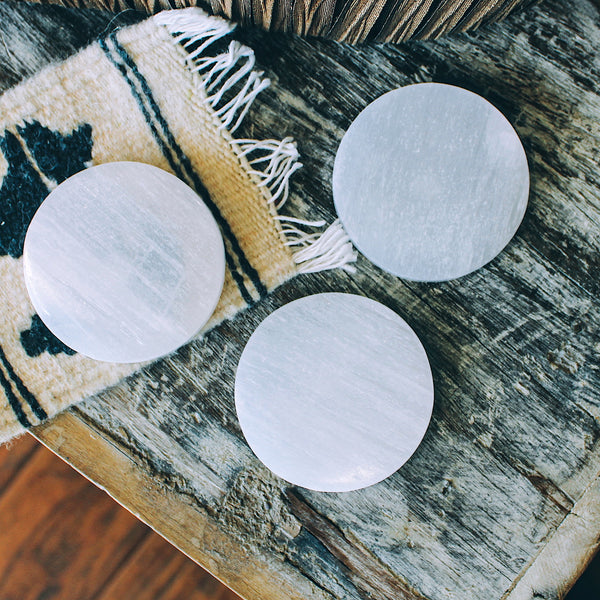 "Selenite Plates ""Small"""