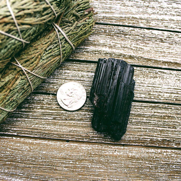 Black Tourmaline Natural Pieces