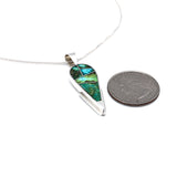 Sonoran Gold Turquoise Inlay Pendant
