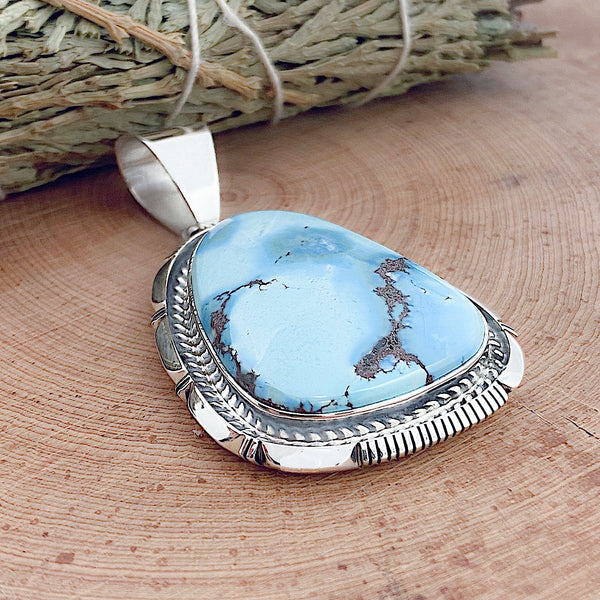 Golden Hill Turquoise Pendant