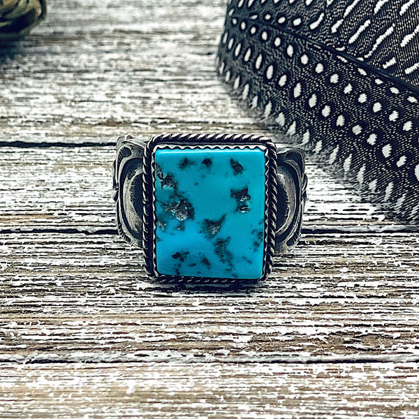 Sleeping Beauty Turquoise Ring Size 12