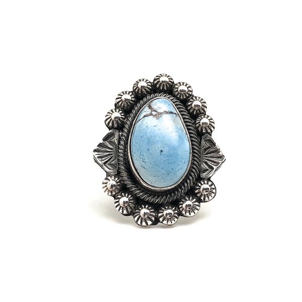Golden Hill Turquoise Ring Size 6