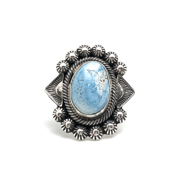 Golden Hill Turquoise Ring Size 6.5