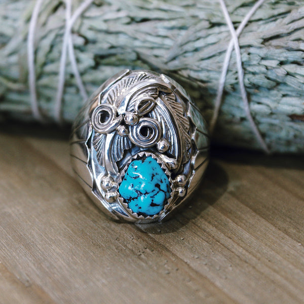 Sleeping Beauty Turquoise Ring Size 11.5