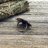 Copper Ring Size 7