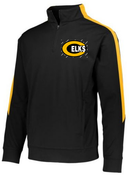 Youth quarter zip-Centerville 12u Black Baseball
